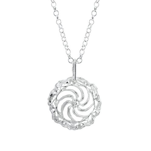 Lrg Swirl pendant