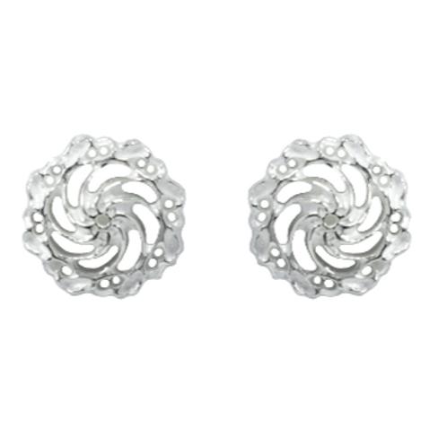 Small Swirl studs earrings
