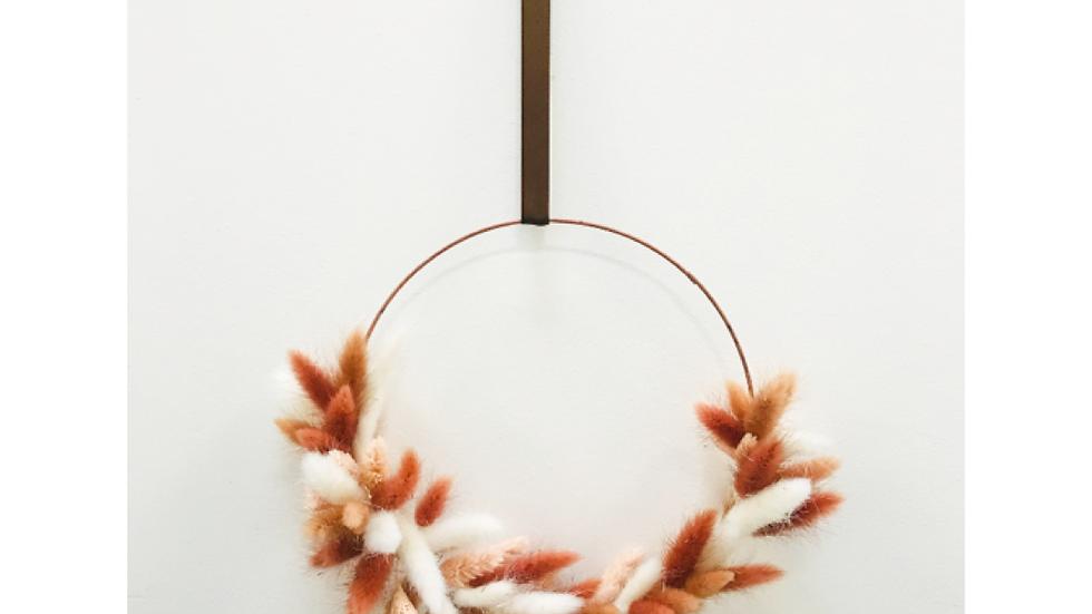 Dried Winter wreath