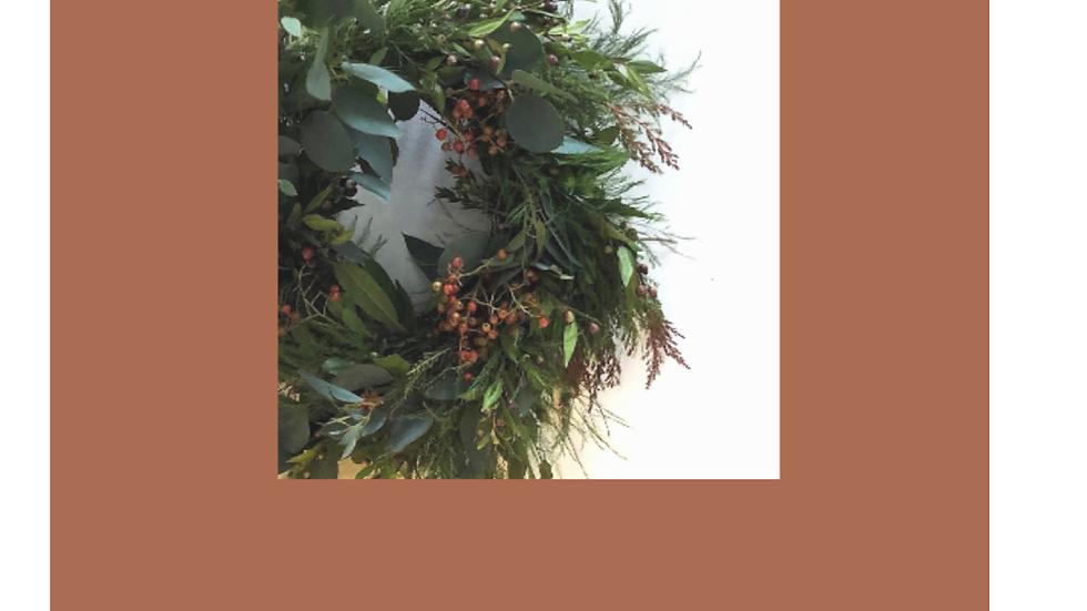Winter wreath workshop - 9th December