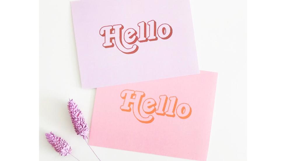 Hello Notecard