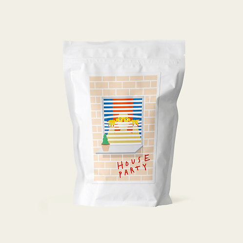 Hard Lines Coffee Beans - House Party 250g