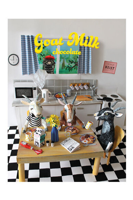 Heist Chocolate - Goat Milk
