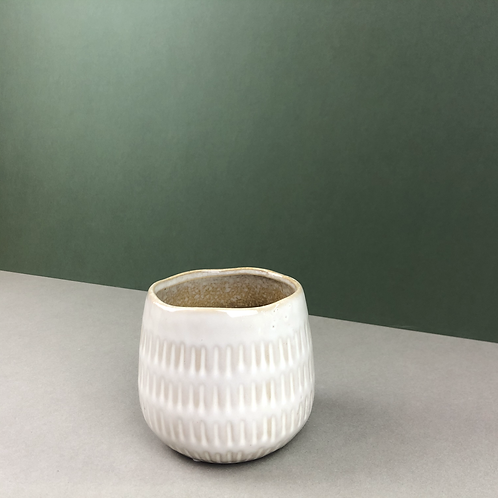 Small Stoneware Planter