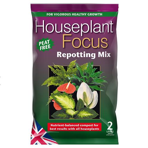Houseplant Focus Repotting Mix