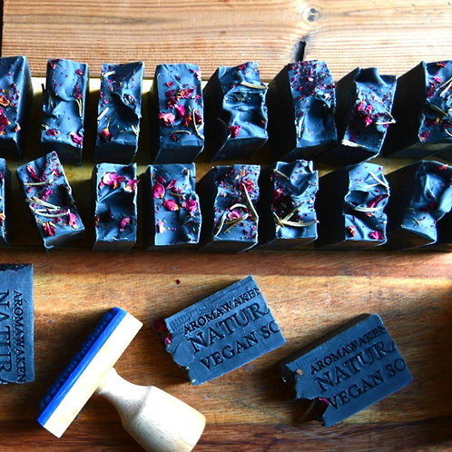 Aroma Awakening - Charcoal Soap Black Rose