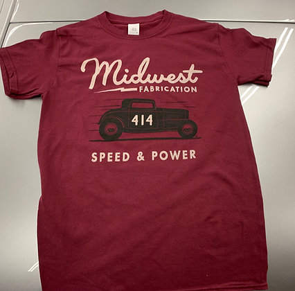 Speed and Power Tee