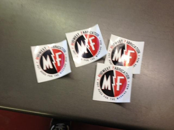 Midwest Fabrication Stickers
