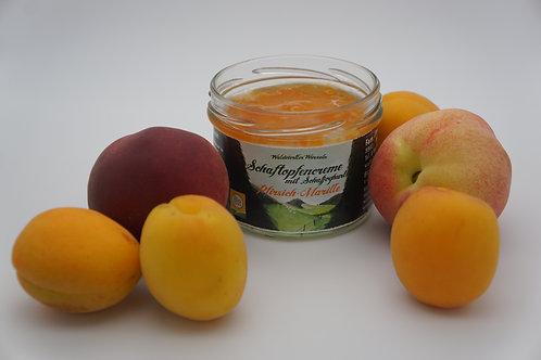 Schaftopfencreme-Pfirsich-Marille