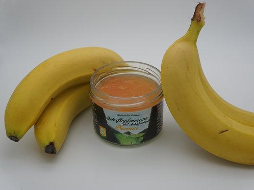 Schaftopfencreme-Banane