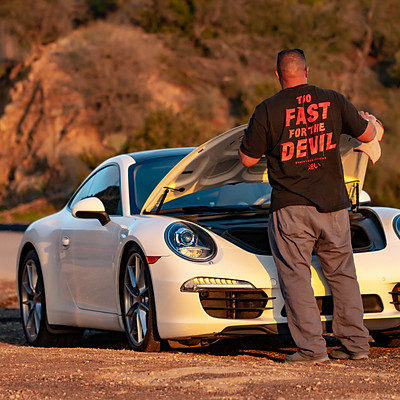 Porsche Project BTS