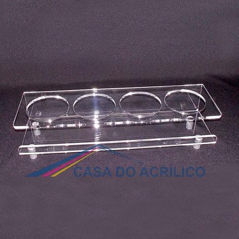 CA 8943 - Porta copo de acrílico