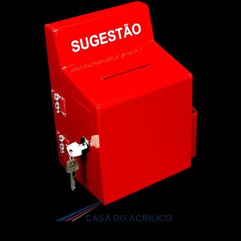 Ref. 8999 - Caixa de Sugestão
