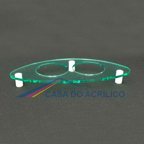 CA 8944 - Porta copo de acrílico