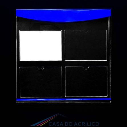 Ref. 723 Painél com 1 Display informativo para 4 folhas A4