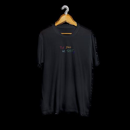 Camiseta Rainbow Love | Preta