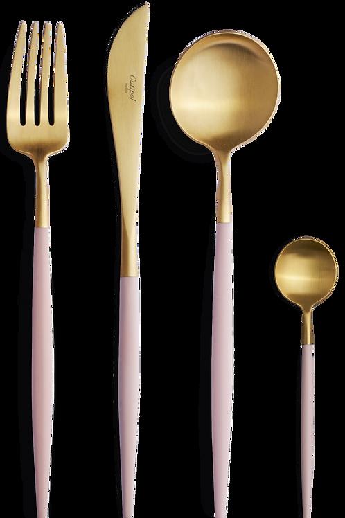 Cutipol galda piederumu komplekts GOA Pink&Gold 24gb.