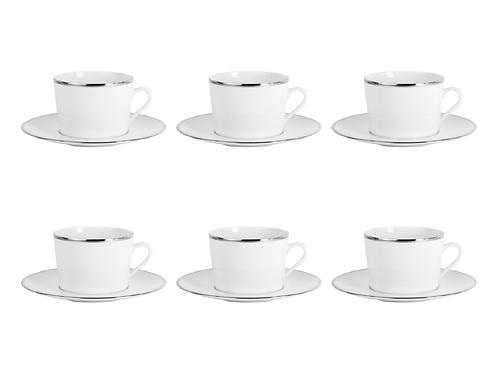 Galon Platine 6 tējas krūžu servīze
