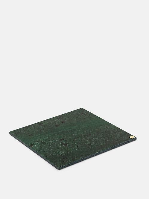 Zaļš marmora paliktnis liels