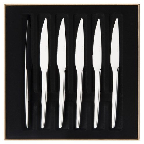 Degrenne Paris steika nažu komplekts 6 gab. Guest Mirror