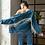 Thumbnail: Denim Sparkle Jacket in Blue