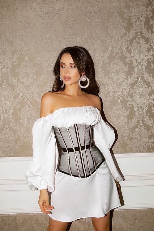 Verona White Mini Dress