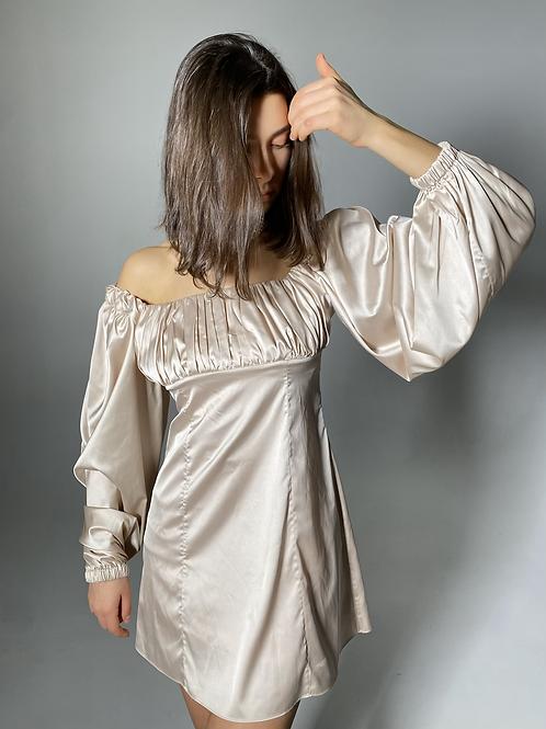 Verona Blush Mini dress