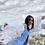 Thumbnail: Denim Feathers Jacket in White