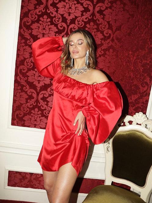 Verona Mini Red Dress