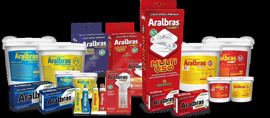 Aralbras Cola Epóxi Premium