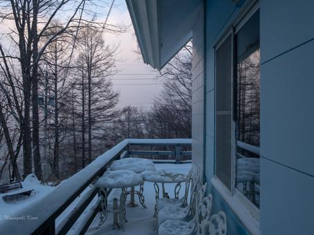 まとまった積雪 パウダースノー
