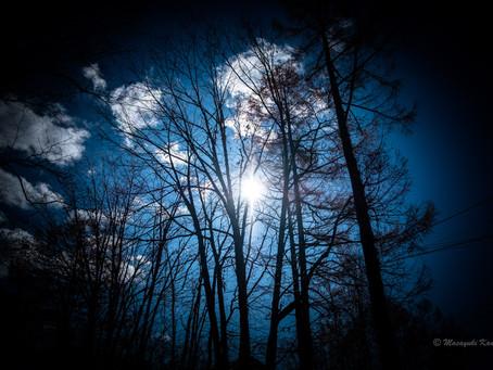 晩秋の気候 八ヶ岳が冠雪