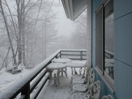まとまった積雪です