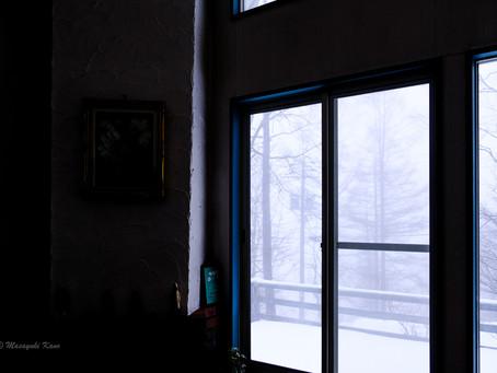 【蓼科ブログ】雪が降りました