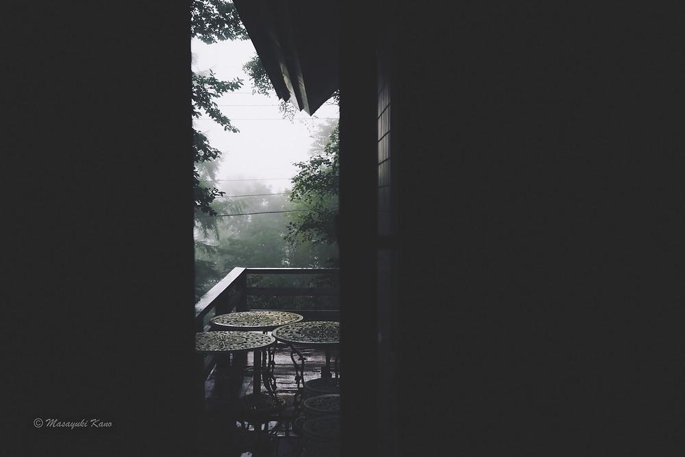驟雨|にわか雨|蓼科高原|茅野市|長野県|ペンション・サンセット