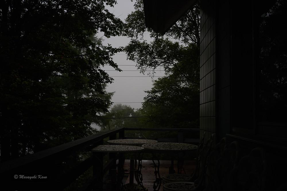 宵闇の雨 蓼科高原ペンション・サンセット