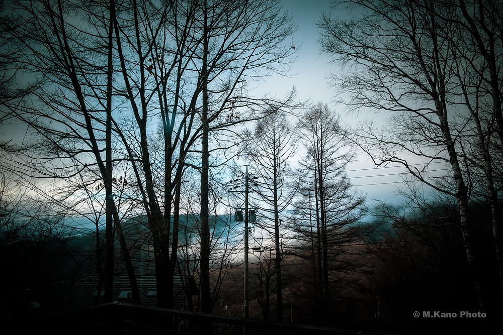 今日の蓼科高原 標高1700メートル