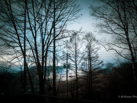 雨のち夜は満天の星 蓼科高原