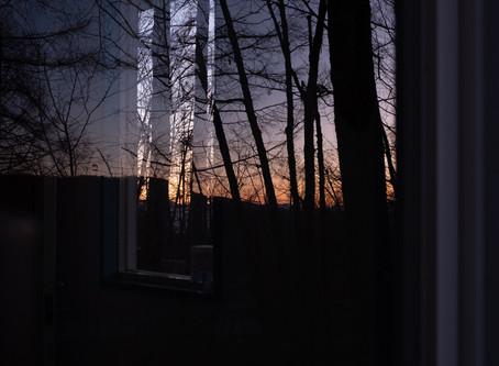 夕暮れが美しい季節になりました