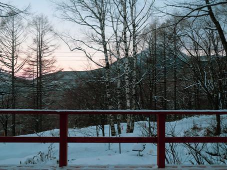 January 14, 2021 今日も朝焼けがきれいでした。