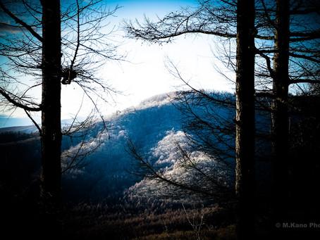 師走ですね 美しい夕暮れと星空の季節です 蓼科高原
