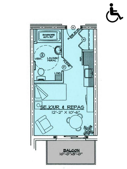 Studio 1 (291 p.c.)