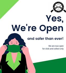We are now open for click and collect!