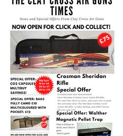 THE CLAY CROSS AIR GUNS TIMES - ISSUE 1
