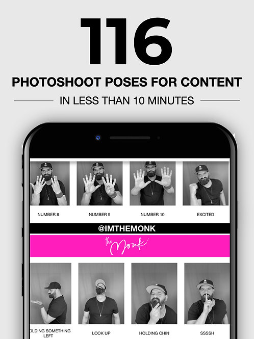 116 Photoshoot Poses For Content