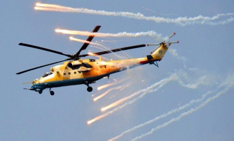 Scores of terrorists killed in massive airstrikes in Borno