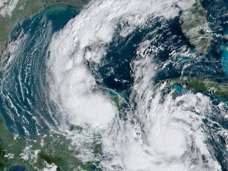 Hurricane Delta re-strengthens to Category 2 in Gulf of Mexico