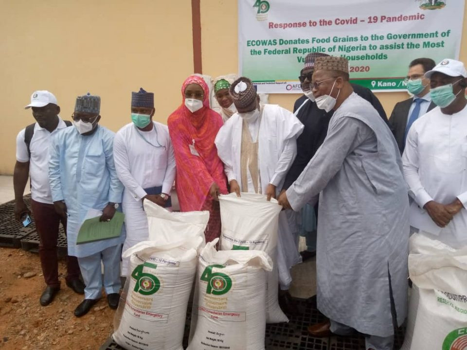 ECOWAS' donation of 4000 tonnes of food to Nigeria