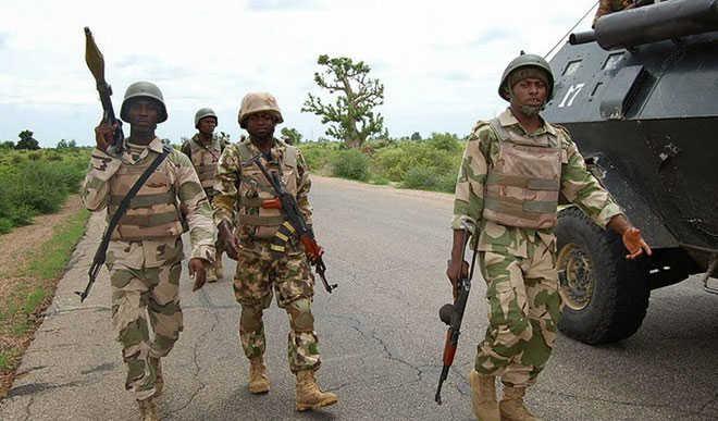 Troops hit Boko Haram/ISWAP base in Hamdaga Makaranta, Borno