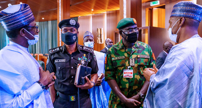 North East Governors engage Service Chiefs